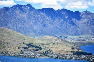 Queenstown vanaf Bob's Peak
